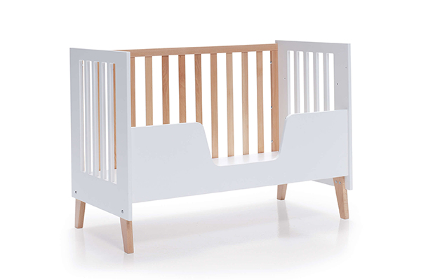 Barrera de protección para cuna-cama de bebé