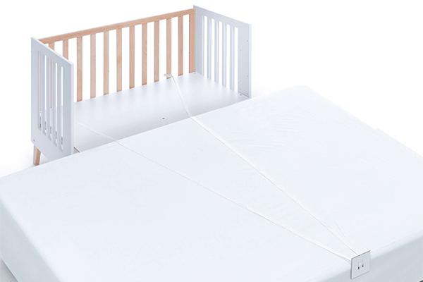 Cintas union cuna colecho para cama