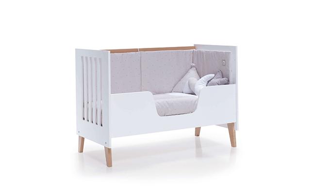 Cuna-cama de 60x120cm para bebé