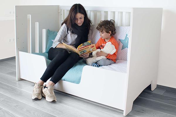 Barrera de protección para cuna-cama de bebé convertible Omni XL