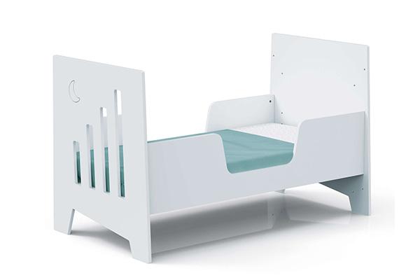 Doble barandilla cama cuna Montessori Omni XL