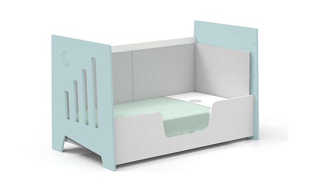 Cuna-sofá 70x140cm en color mint