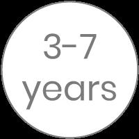 3-7 años
