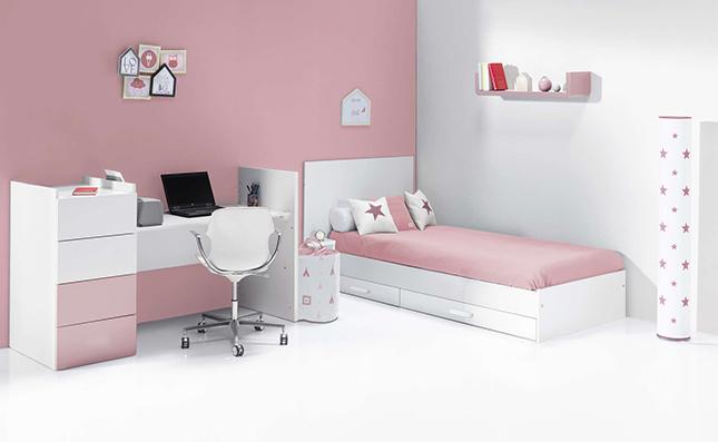 Cuna que se convierte en cama junior 60x120 cm Just Even Arosa
