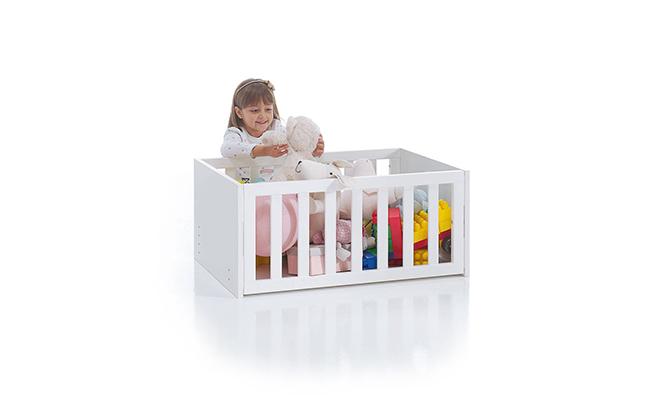 Baúl juguetero 50x80cm para bebé