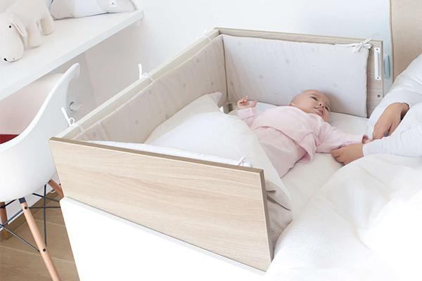 La mejor minicuna de colecho en madera para bebé