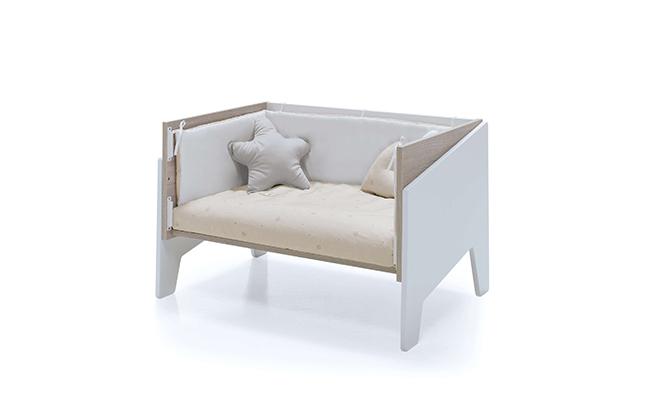 Minicuna-sofá de 50x80cm para bebé