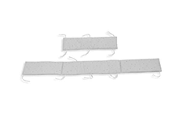 Protector de cuna 70x140cm reversible