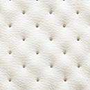 tapizado polipiel blanca microperforada