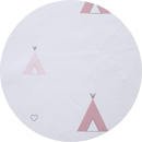 tela indiana rosa alondra