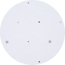 tela gris galaxy alondra