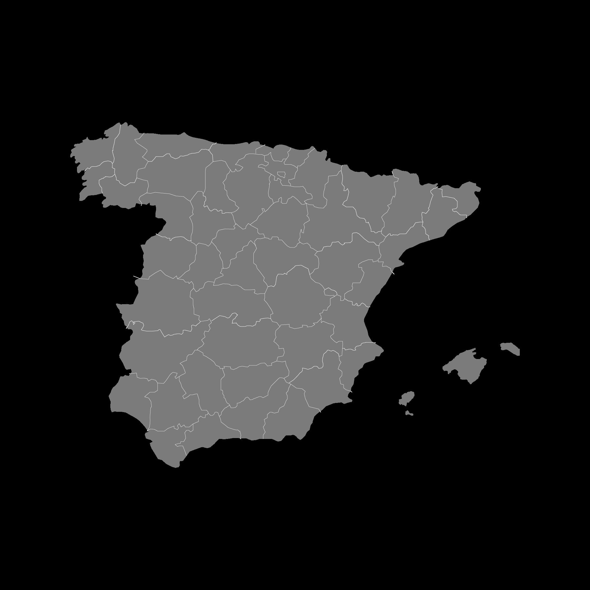 España, país donde realizamos envíos