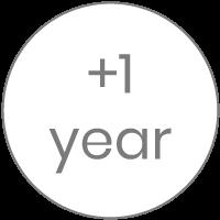 + 1 año