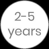 2-5 años