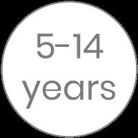 5-14 años