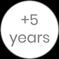 Etapa de +5 años