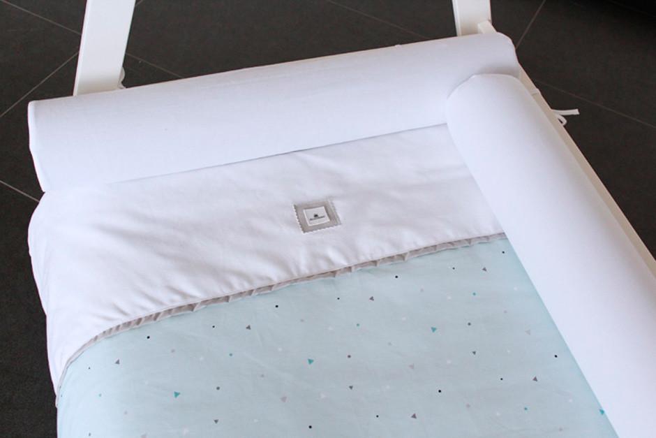 Claves para elegir el cojín protector de cama Montessori