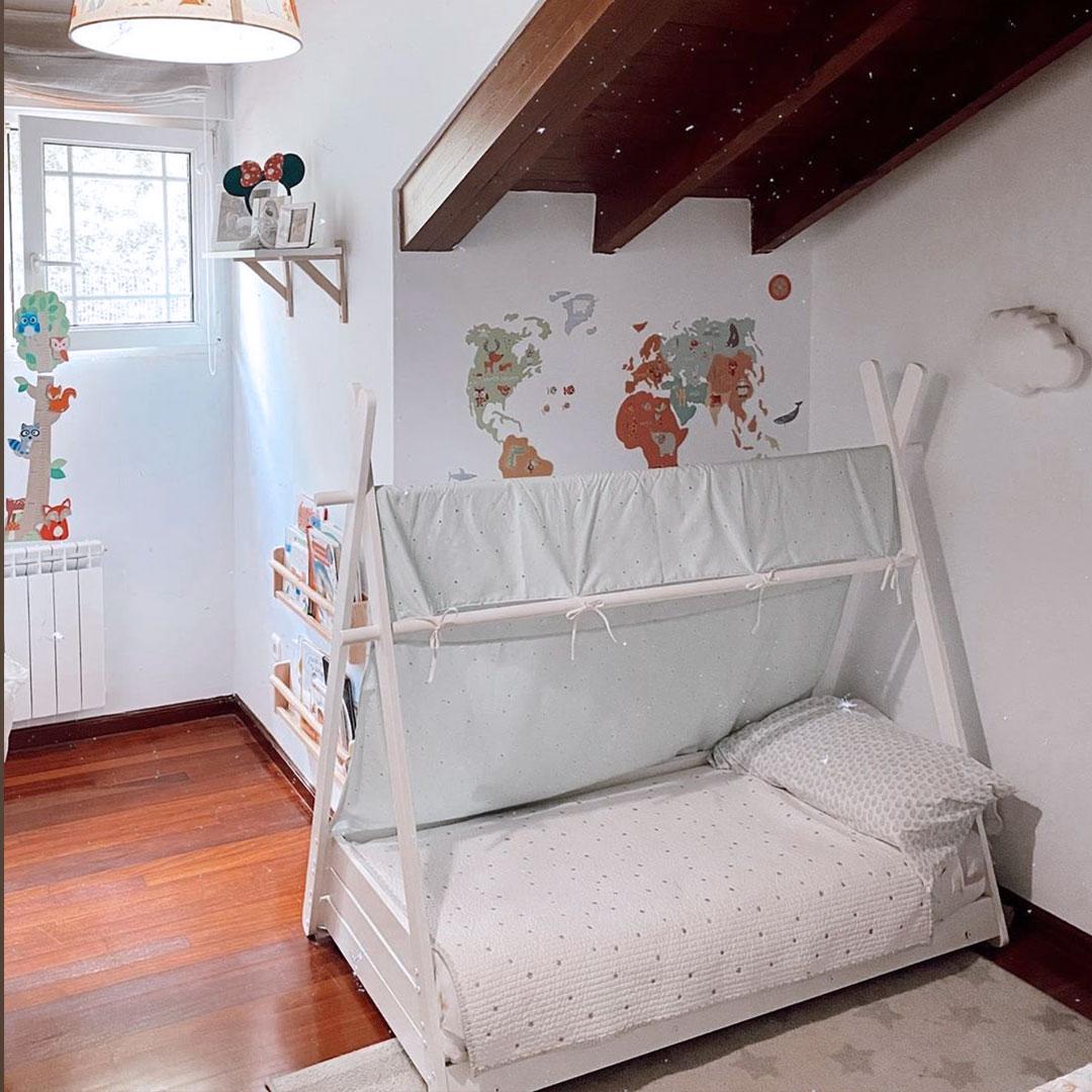 Camita de bebé Montessori de tamaño 70x140cm