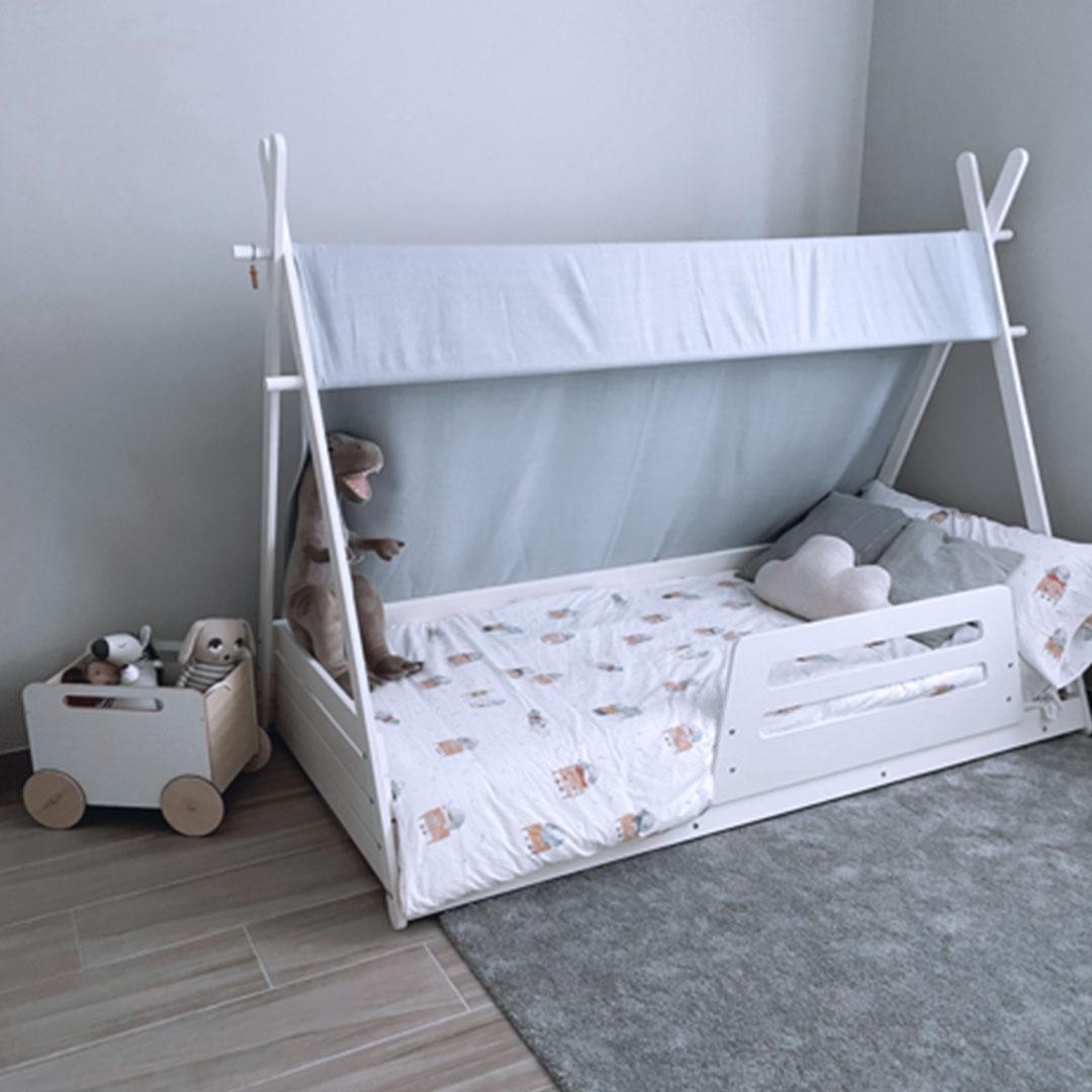 Habitación Montessori con cama Homy XL 90x200