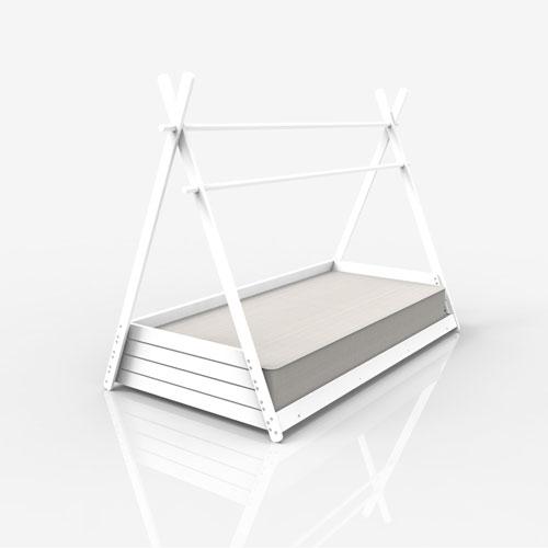 Etapa infantil cama Montessori HOMY XL Alondra 90x200